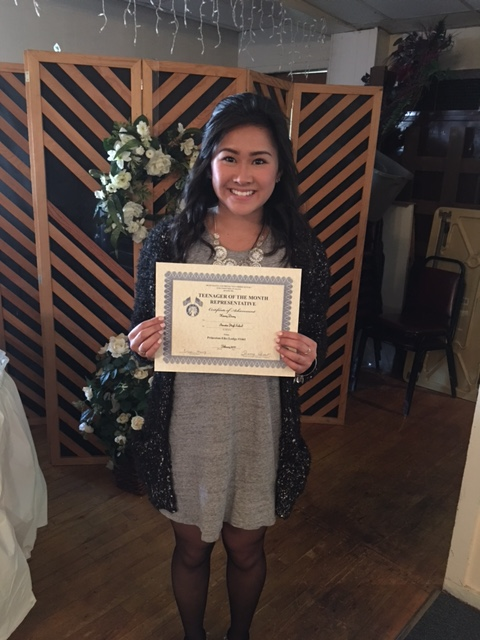 February Elks Teen of the Month